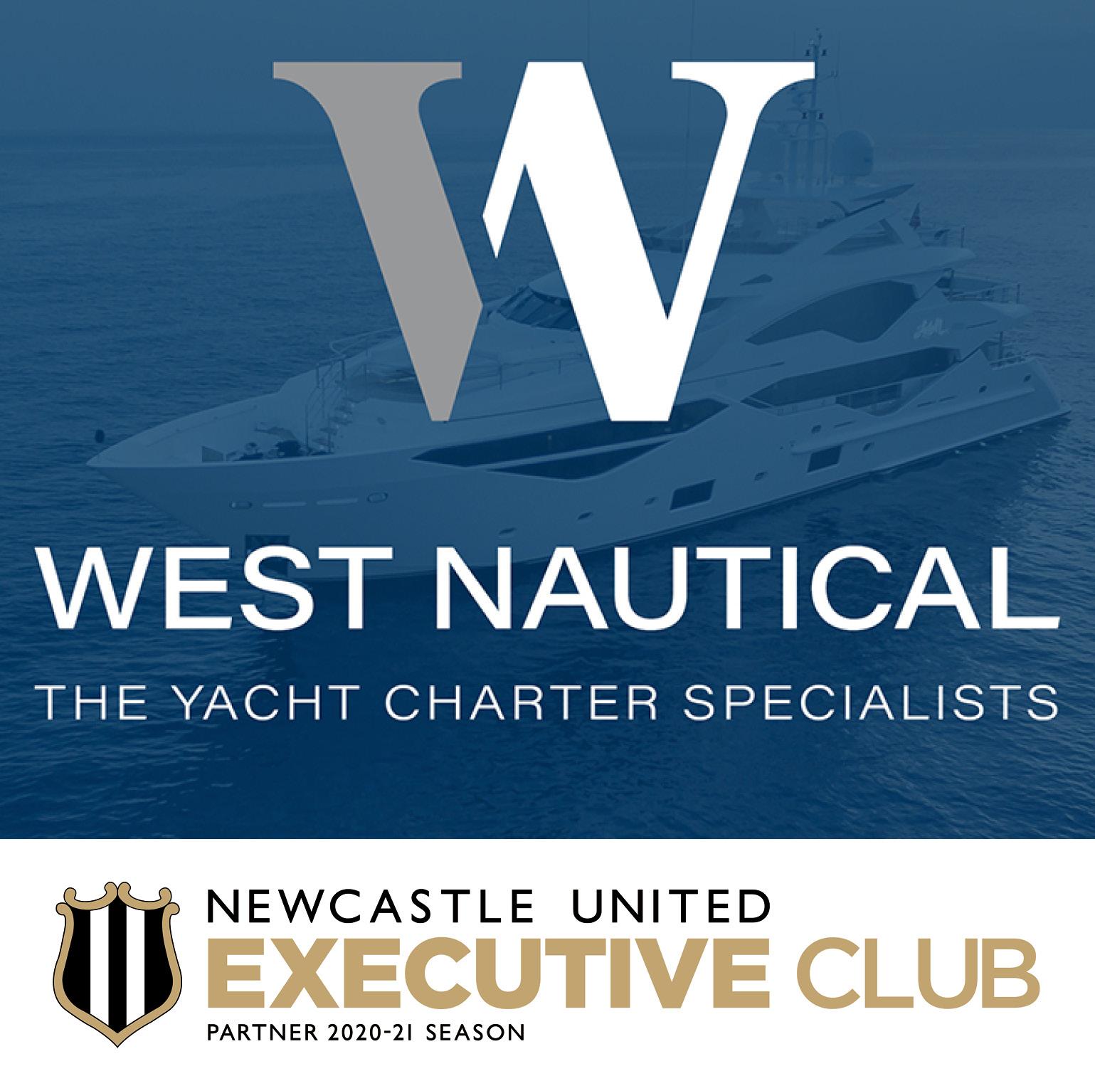 West Nautical Partner Newcastle United Executive Club